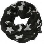 Køb billigt sort tubetørklæde med hvide stjerner 300.181