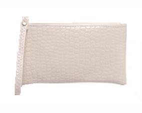 Bestil hvid pung med håndledsrem online