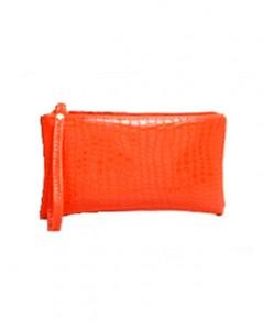 Orange pung til billig pris hos Smikka