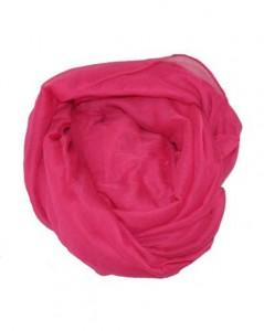 Ensfarvet pink tørklæde online Smikka webshop 89 kroner