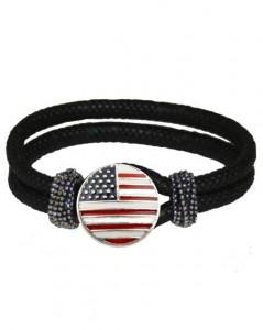 Armbånd med USA designet smykke