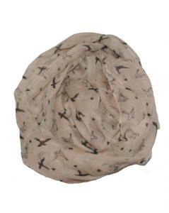 Tørklæde med svaler online