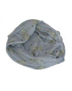 Smukt tørklæde med zebraer