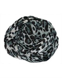 Leopardtørklæde i grå online i Smikkas webshop