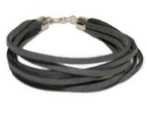 Armbånd i grå til billig online pris hos Smikka