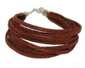 Brune armbånd til billig pris online i webshop Smikka