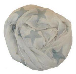 Stjernetørklæde værtindegave 150 kroner