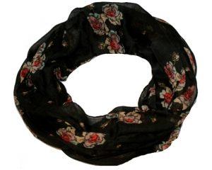 Tubetørklæder i nye designs med roser