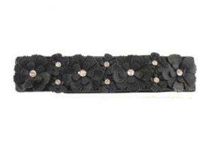 Bestil billige elastikbælter i sort online i Smikkas webshop