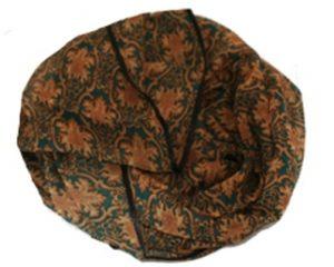 Tørklæde på udsalg med satinkant