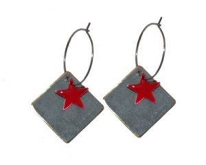 Øreringe på creoler køb dine julegaver online i Smikkas webshop