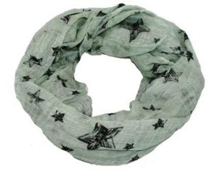 Tubetørklæde med stjerner på tilbud online hos Smikka