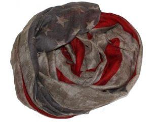 USA stjernetørklæde billigt online i webshoppen Smikka. Køb dine julegaver online