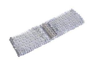Sølv bælte med pailletter på januar udsalg online i Smikka webshoppen
