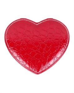 Køb hjertesmykkeskrin i rød