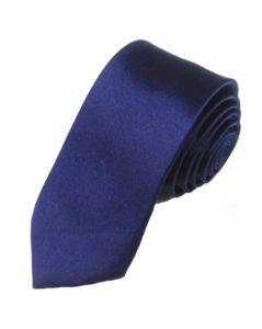 Mørkeblåt slips online Smikka