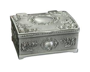 Lille kisteformet smykkeskrin i vintagelook