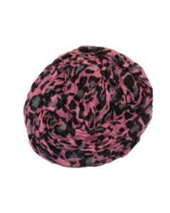 Pink leopardtørklæde med grå leopardprint billigt online webshop Smikka