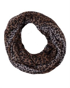 Tubetørklæde med leopardprint online i webshopen Smikka