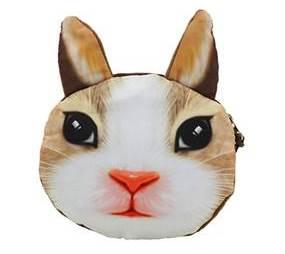 Sød lille punge designet som en kanin. Punge med dyremotiver online Smikka