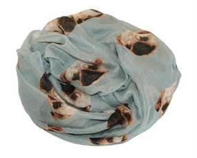 Tørklæde med hunde ansigt billigt online