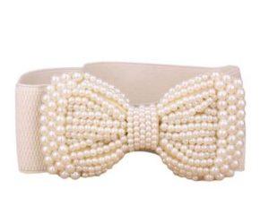 Elastikbælter med perler online i webshop Smikka