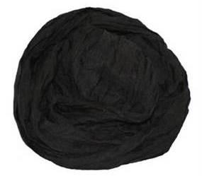 Stort tørklæde i sort billigt online webshoppen Smikka