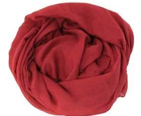 Mørkerød tørklæde til billig online pris