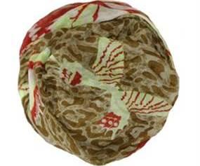 Mønster mix tørklæde med sommerfugle