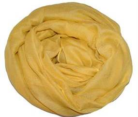 Gult tørklæde online Smikka