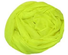 Tørklæde i neongul billigt online Smikka webshoppen