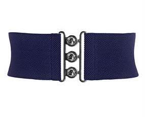 Elastikbælte blå klassisk design størrelse XL