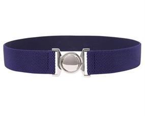 XL elastikbælte i mørk blå