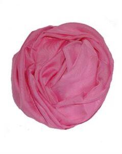 Ensfarvet let tørklæde til kor